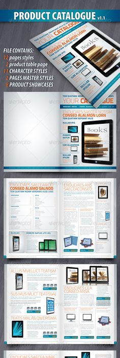 Business Annual Brochure Brochures Brochure Template And