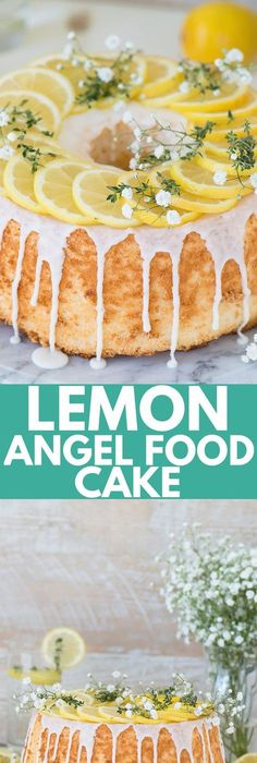 Ingredients 1 box angel food cake mix or one recipe for angel food easy and rustic lemon angel food cake that begins with a box mix forumfinder Gallery