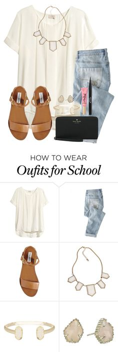 6 Days Left Of School! by twaayy on Polyvore featuring HM, Blu Bijoux,
