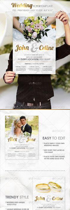 Wedding ExpoShow Flyer Template Iii  Flyer Template Template