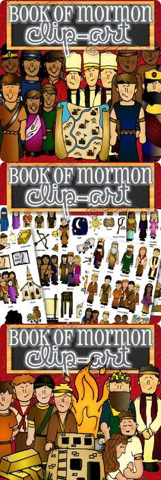 Clipart For Entire Book Of Mormon Stories