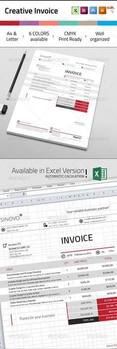 Invoice Template, Project proposal and Proposal templates