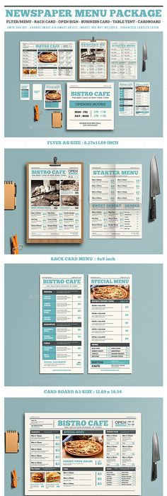 Luxury Restaurant Menu Design Template  Restaurant Menu Design