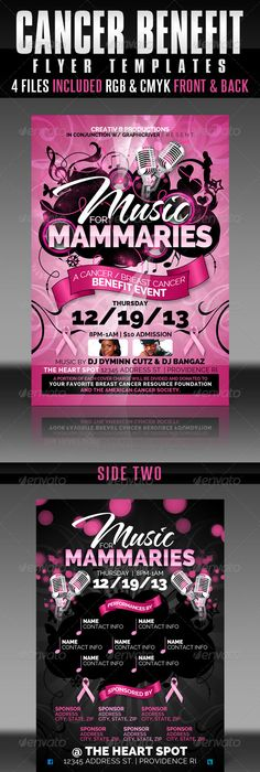 Cancer Benefit Flyer Template (13 Images) - RC Flyers