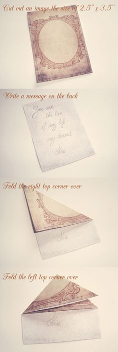Toracellie Writing And Folding A Regency Style Letter Great For