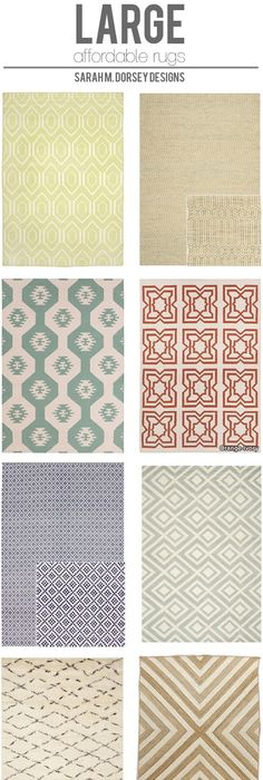 Affordable Finds Large Area Rugs
