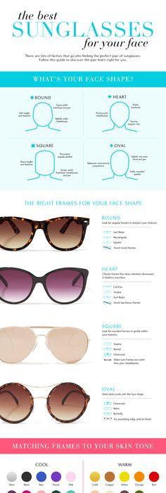 Best Eyeglasses for Face Shape   Face shapes, Eye glasses and Shapes