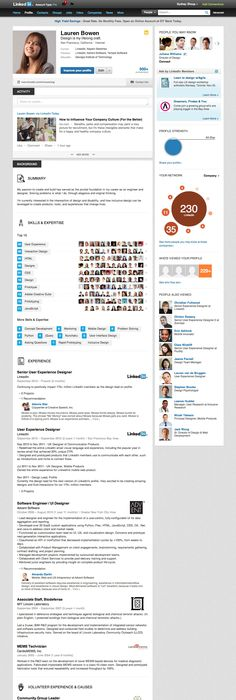 How to use LinkedIn for Business Profile, Infographic and Infographics - best of blueprint software systems linkedin