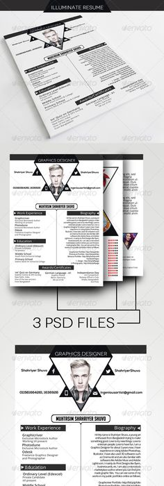 Resume Templare Classy Resume  Template Resume Cv And Cv Template