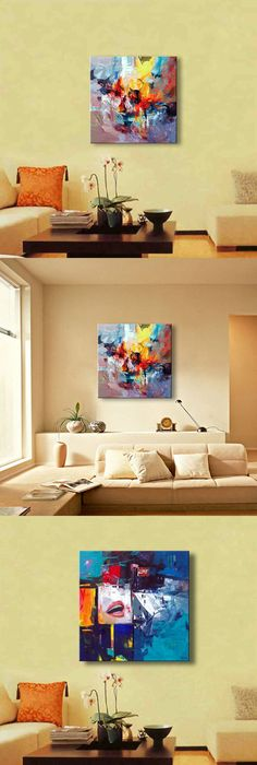Hand Painted oil paintings on canvas dancing girl women home decor ...