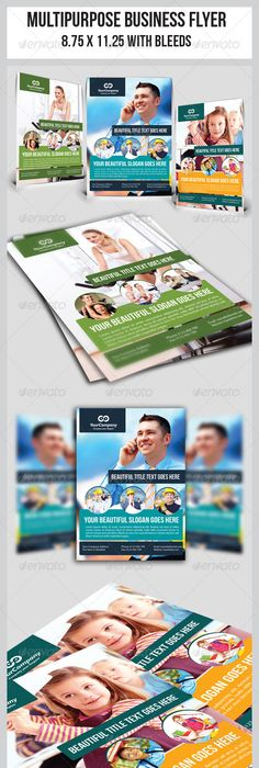 Multipurpose Business Flyer A4 Business Flyers Brochures And Psd