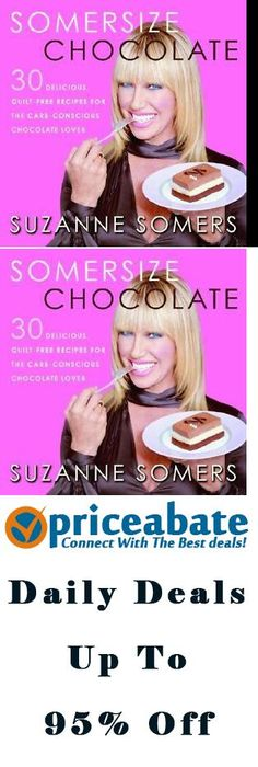 Somersize suzanne somers vhs diet weight loss program recipe cards priceabatedeals somersize chocolate suzanne somers 30 guilt free recipes for chocolate lovers buy this forumfinder Choice Image
