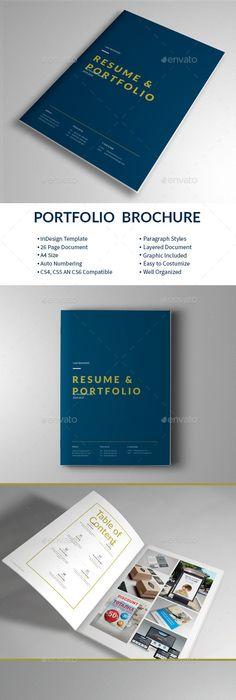 Graphic Design Portfolio Template | Graphic design portfolios ...