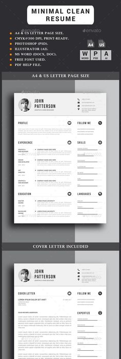 Resume  Cv Template Template And Resume Cv