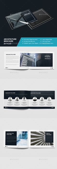 Modern Architecture Brochure  Pages A  A  Brochures