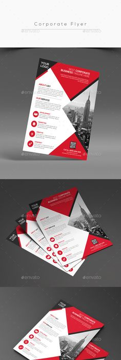 Corporate Flyer  Brochures Layouts And Fashion Shops