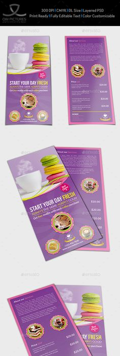 Beauty Center Flyer Dl Size Template Vol2 Flyers Print Templates