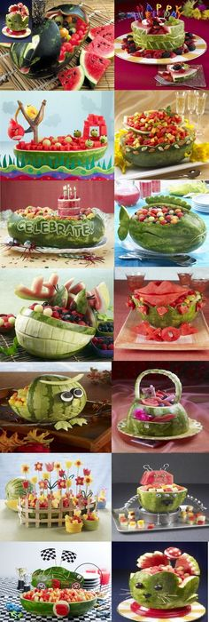 Easy fruit tray ideas for parties trays and
