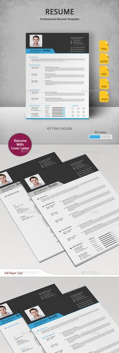 Rare Set Of Resume Templates  Resume Templates  Resume