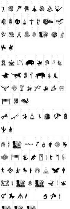 Native American Indian Symbols Love Pinterest Indian
