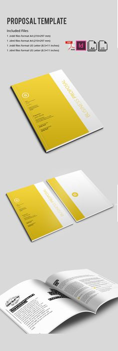 GENUS  Corporate Clean Creative Business Proposal Proposal Design - purchase proposal templates