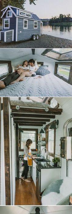 Tiny Home Designs: Interior, Tiny Trailer Home