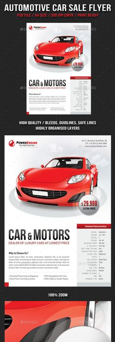 Car For Sale Flyer Rent Car Flyer V3 Psd Template  Facebook Cover  Psd Templates And .