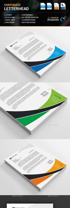 Letterhead psd template landscape company download https business letterhead template psd vector eps ai ms word spiritdancerdesigns Images
