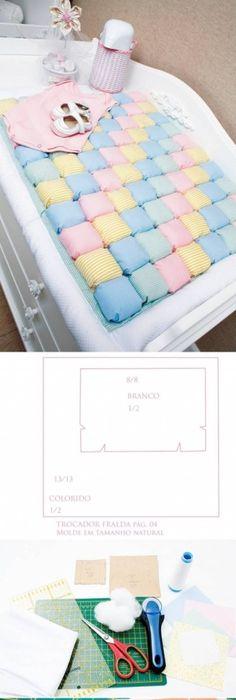 Zabawki dla niemowlt diy strony rezerwuj projekty diy na stylowi how to make baby diaper change rug step by step diy tutorial instructions how to solutioingenieria Images