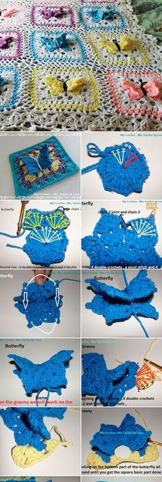 Crochet Butterfly Free Patterns You Should Try for Your Next Project ...