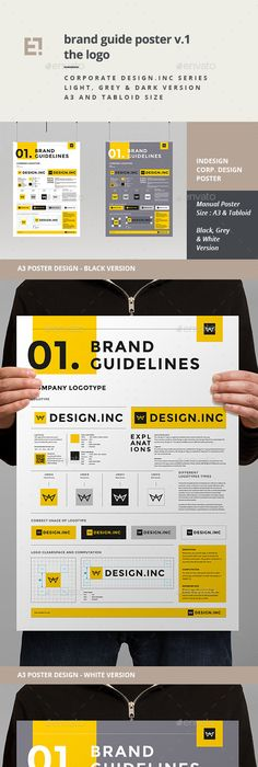Brand Identity Poster | Brand identity, Flyer printing and Print ...