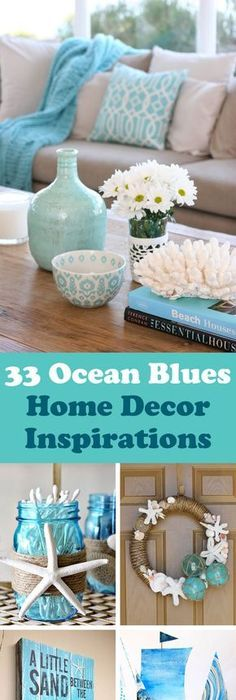 33 Gorgeous Ocean Blues Home Decor Inspirations To Update Your Living Space