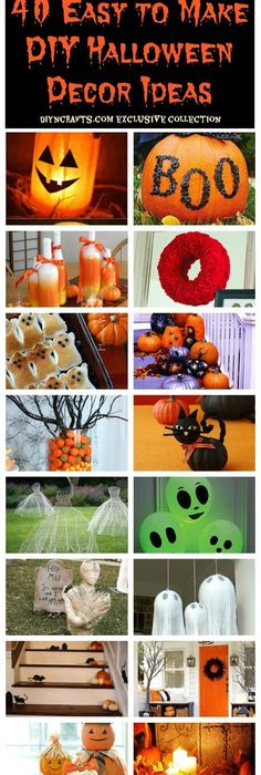 42 Last-Minute Cheap DIY Halloween Decorations You Can Easily Make - make halloween decoration