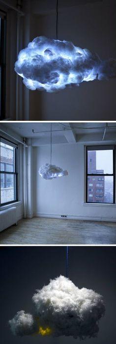 14 Creative DIY Light Ideas. Cloud LampStorm CloudsThe ...