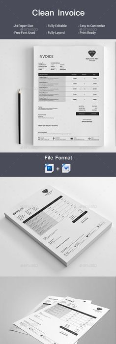 Brief  Estimation  Invoice Templates Indesign Indd  Proposal