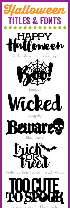 Free Halloween SVG Files from @chicfetti Free SVG Files - new letter format extension time