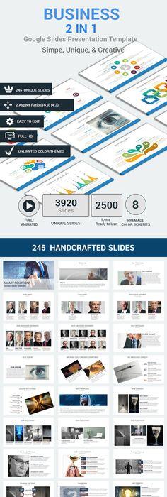Business Story Google Slides Presentation Template  Presentation