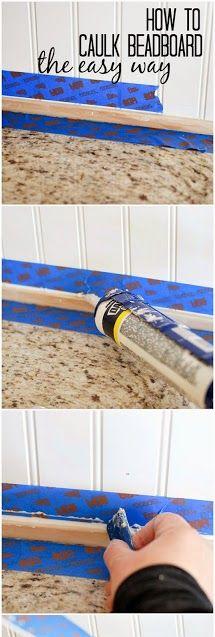 Waterproof Pvc Beadboard Planks For Use In Bathroom Above