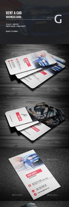 Rent A Car Business Card Card Templates Business Cards And Template