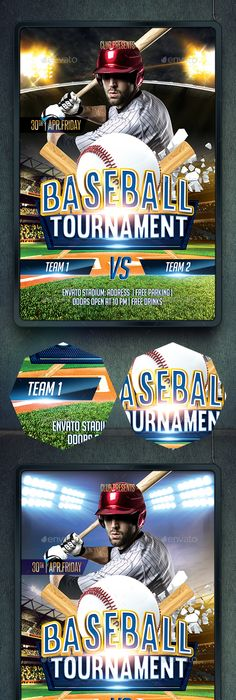 Baseball Flyer Baseball League Flyer Template Design By