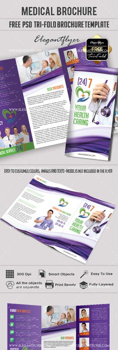 Medical Free Brochure Psd Template Free Brochure Psd Templates