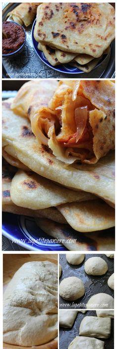 Mahjouba algerian tomato onion filled pancake street food great mhadjeb is typical algerian street food forumfinder Image collections