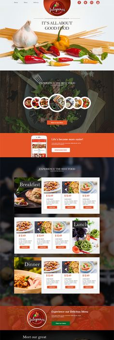 Pizzaro  Food Online Ordering Ecommerce Psd  Restaurant Website