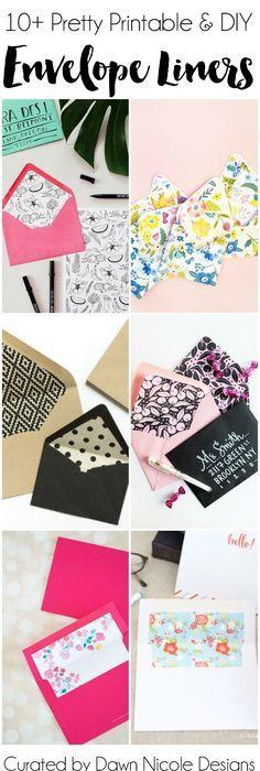 Diy Envelope Liners Template  Card Making Ideas    Diy