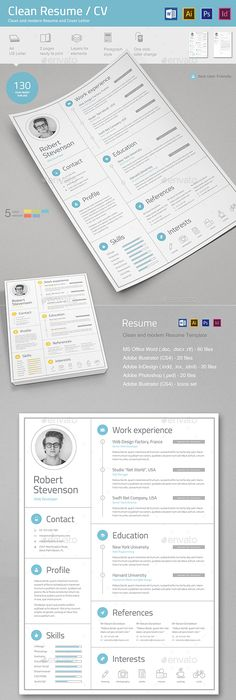 Examples Of Beautiful ResumeCv Templates   ResumeCv
