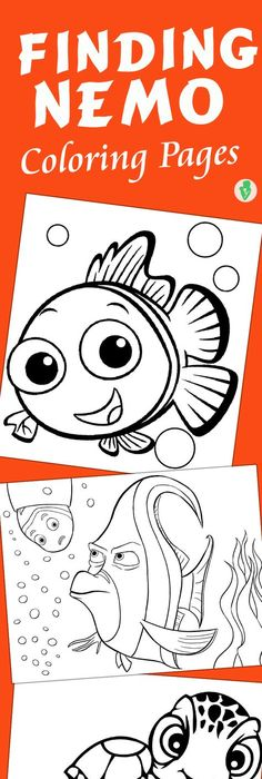 coloriage poisson du0027avril Animales acuaticos Pinterest - fresh coloring pages of nemo and friends