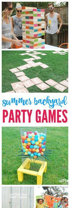 Thereu0027s Nothing Better Than A Summer Backyard Party With Friends! These  Summer Backyard Party Games Are Sure To Make Your BBQ A Success Full Of Fun  Food, ...