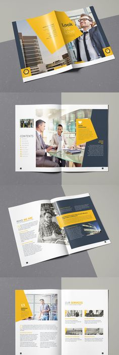 Brochure Template For Indesign A And Letter Business Brochure - Brochure template for indesign