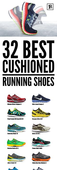 Lots of runners swear by the pain-relieving effects of cushioned running  shoes. From