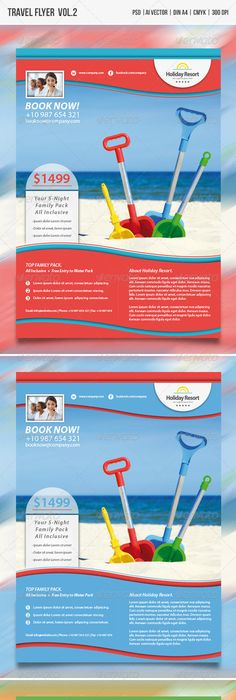Travel Flyer  Print Templates Template And Flyer Printing